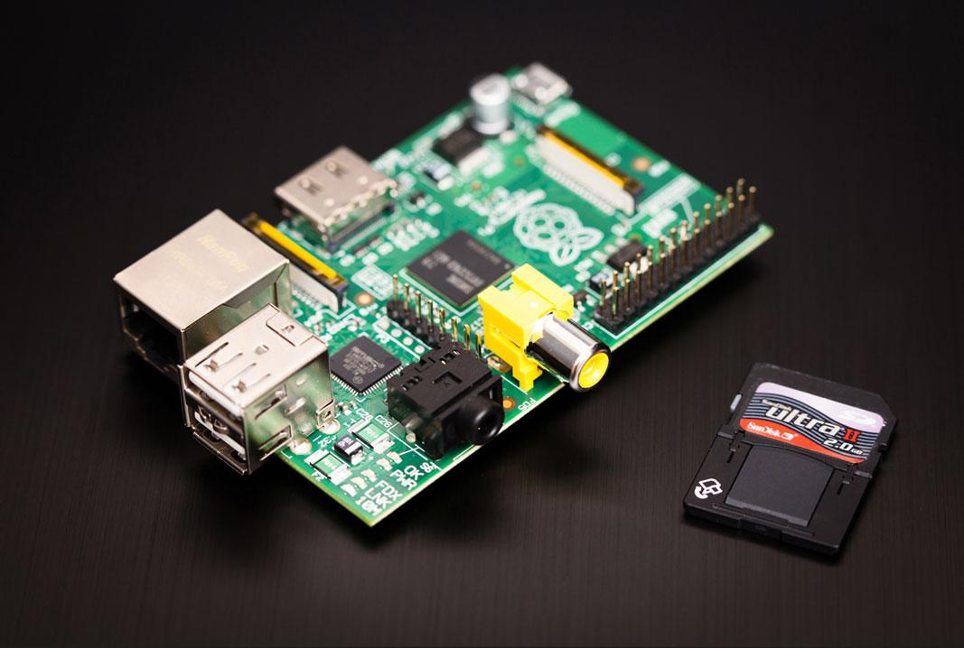 Modèle B+ Raspberry Pi