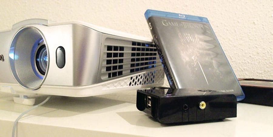 Vidéo-projecteur et raspberry pi
