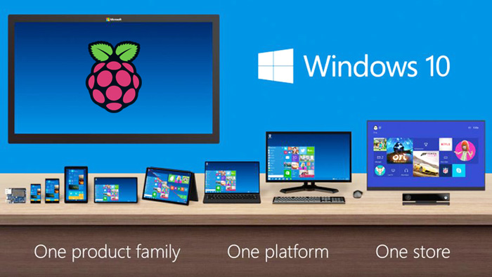 Windows 10 pour la Raspberry Pi 3
