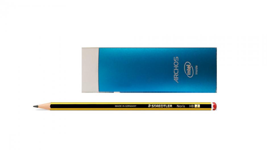 L'Archos Stick, un peu plus petit qu'une Raspberry Pi