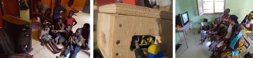 Les boitiers Malinux Télé avec une Raspberry Pi au Mali