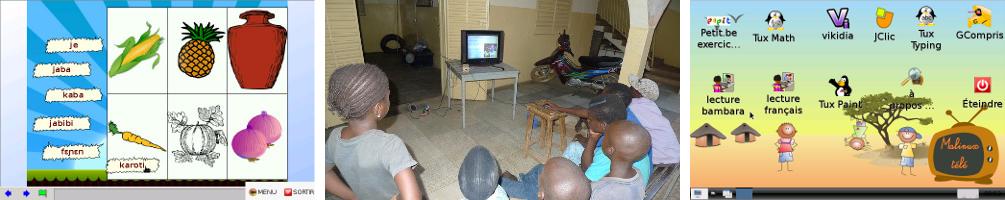 Malinux TV, interface et utilisation au Mali
