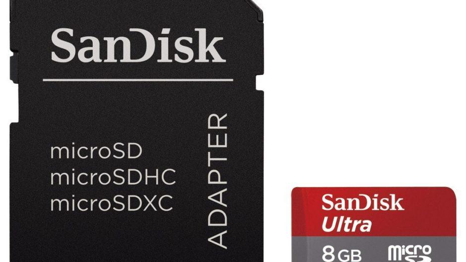 Cartão MicroSD de 16 GB