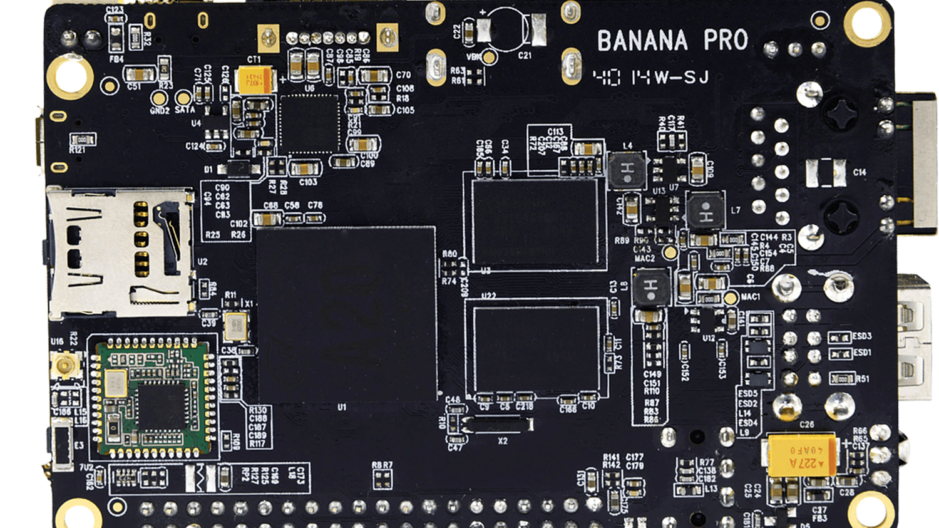 Banana Pro a clone of the Raspberry Pi