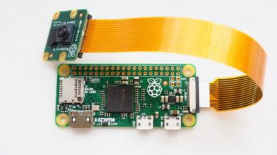 La nouvelle Raspberry Pi Zéro version 1.3