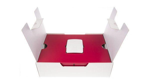 Vue de la boite du nouveau kit Raspberry Pi