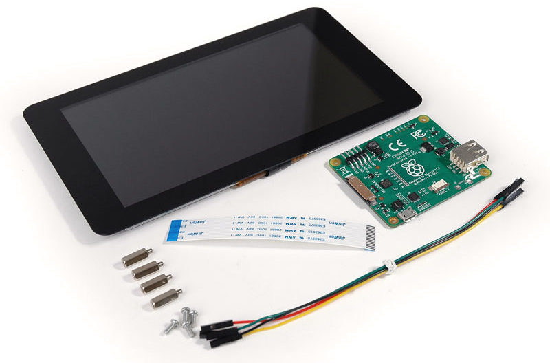 Official touchscreen from the Raspberry Pi Foundation