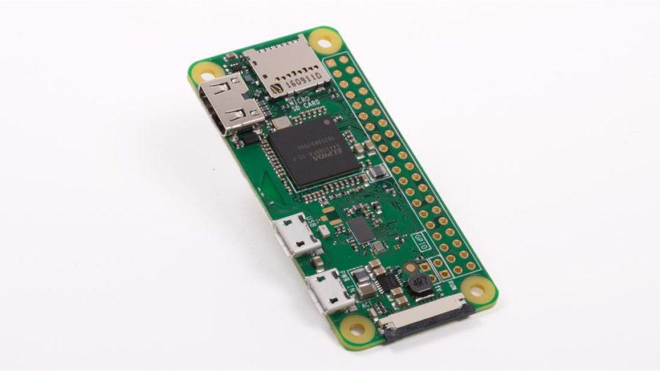 Photo of a Raspberry Pi Zero W