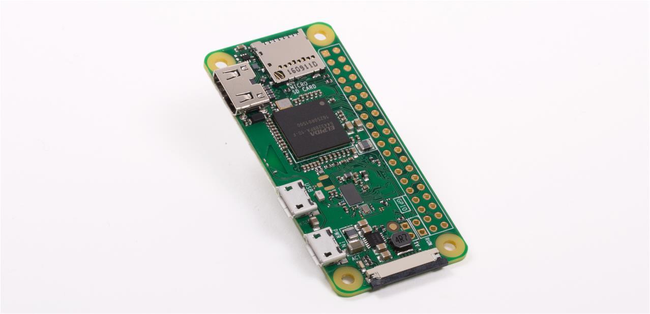 The foundation announces a new Raspberry Pi Zero W