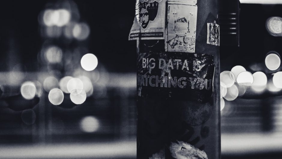 Big Data is Watching you poster.