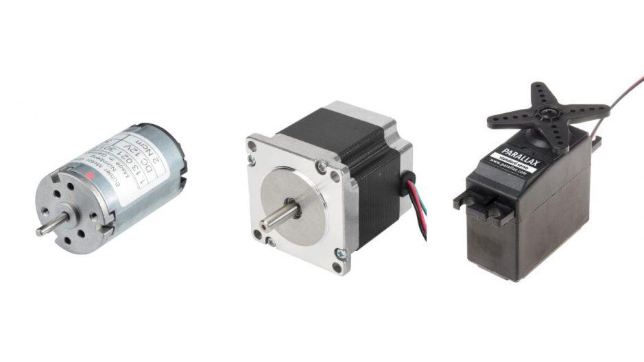 أنواع المحركات المختلفة