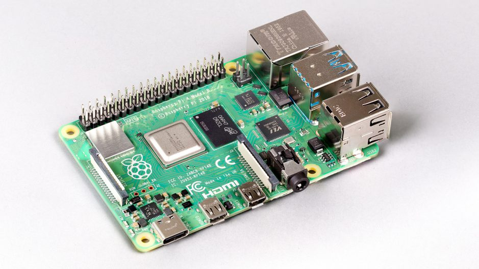 Nouveau Raspberry Pi 4 version 8 Go.